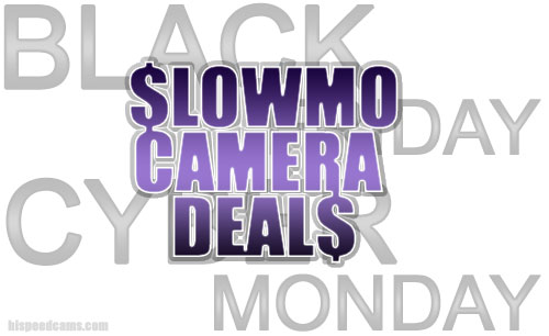 Cyber Monday Slow Motion Camera Deals