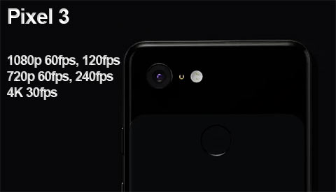 Google Pixel 3 Slow Motion