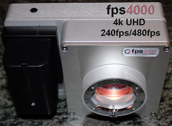 fps4000 first 480fps 4k Footage
