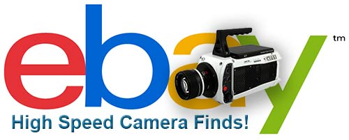 eBay Slow Motion Camera Listings
