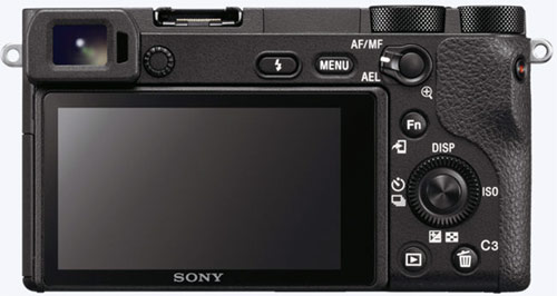 Sony a6500 Back View