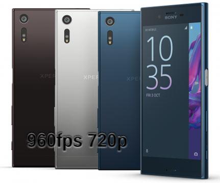 Sony Xperia XZ Premium Slow Motion