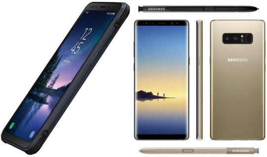 Galaxy S8 Active Note 8 Rumors