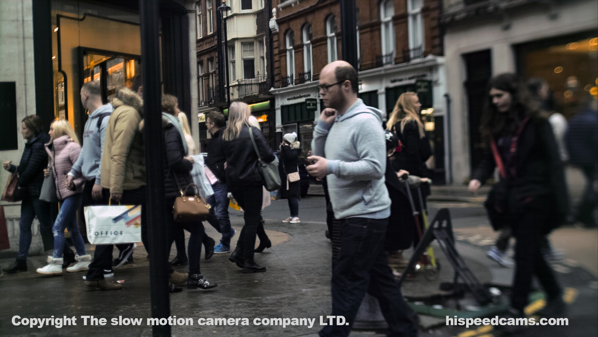 Street People Frame from the fps4000. DNG RAW Graded by James Benet.