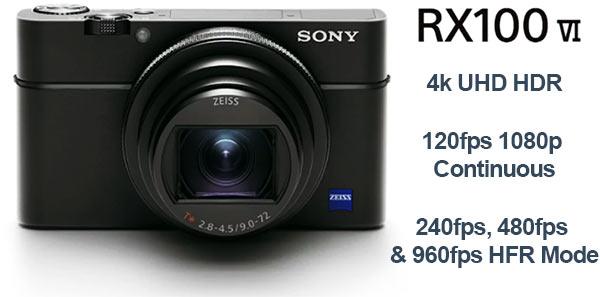 Sony RX100 VI HFR