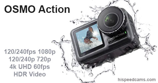 DJI Osmo Action Camera Slow Motion