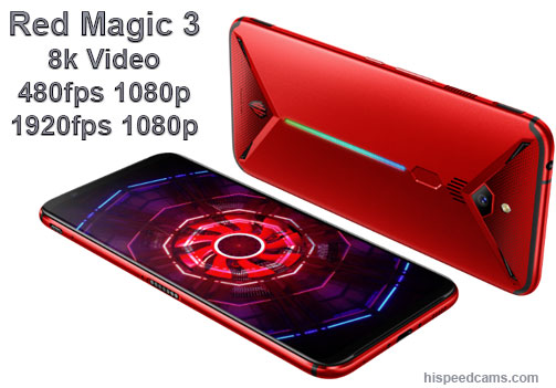 Nubia Red Magic 3 Slow Motion