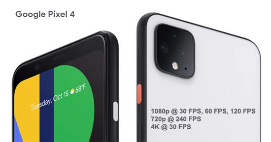 Google Pixel 4 Slow Motion