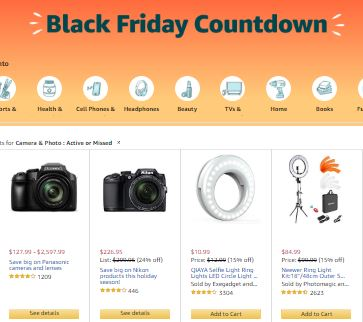 Black Friday Slow Motion Camera Deals