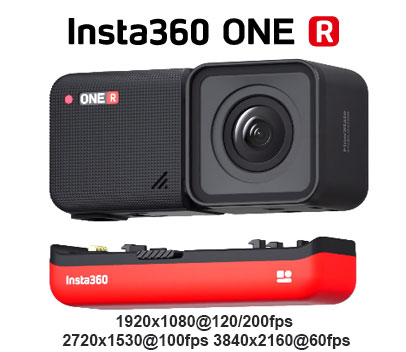 Insta360 ONE R 4k
