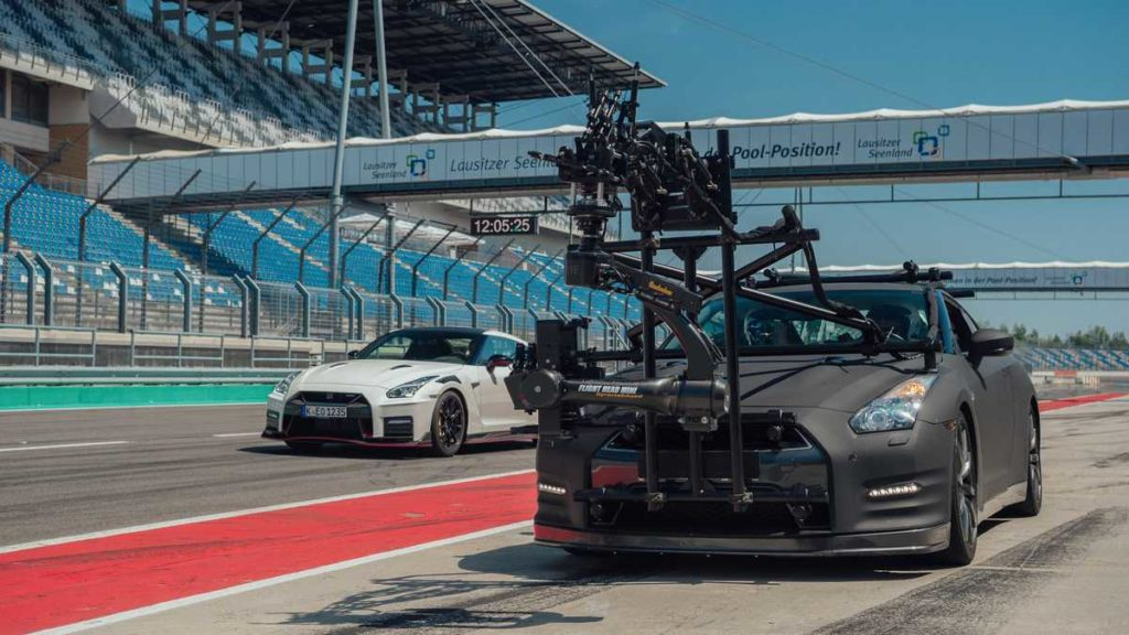 Nissan GT-R High Speed Camera Car