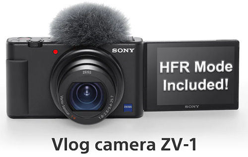 Sony ZV-1 Slow Motion