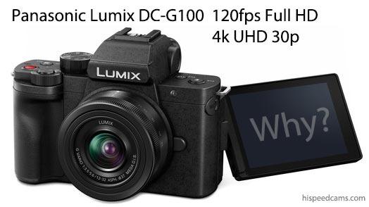 Panasonic Lumix DC-G100 120fps Slowmo
