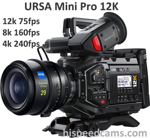 Blackmagic URSA Mini Pro 12k Camera Setup 7
