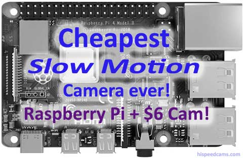 Cheapest slow motion camera